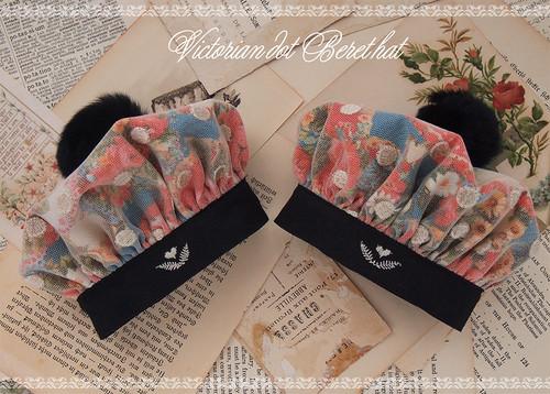 ぼんぼりベレー帽