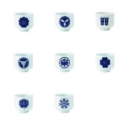 イングレ侍コレクション 5勺家紋柄 Aセット