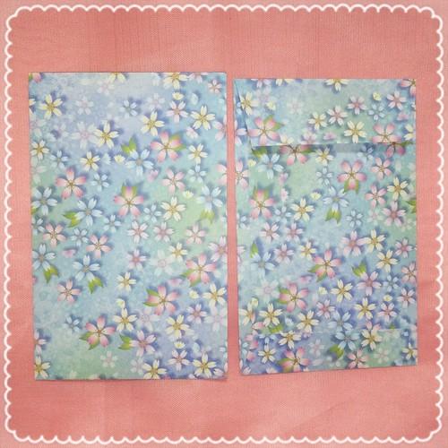 【単品6枚セット】桜ちらし・シャドーブルー