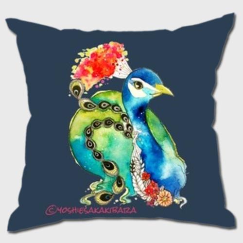 Peacock クッション(本体込)
