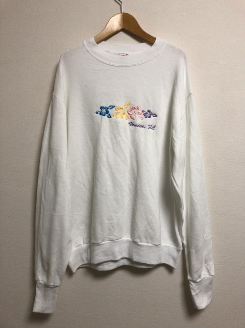 late90's〜early2000's Hibiscus sweat