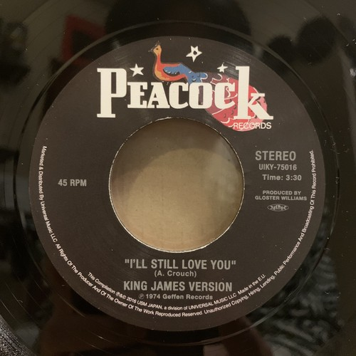 KING JAMES VERSION / MARK CAPANNI - I'll Still Love You/I Believe In Miracles