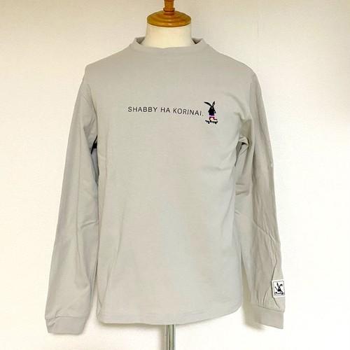 SHABBY HA KORINAI Long Sleeve T-shirts Greige