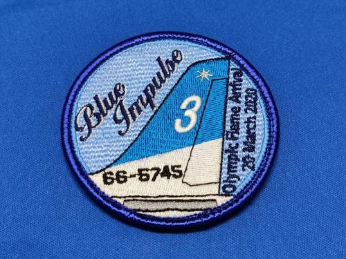 Blue Implse3(青)パッチ(ベルクロ)