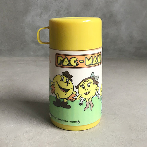 レトロ水筒 パックマン / Vintage Collectible, Pac-Man Thermos, Aladdin, 1980'