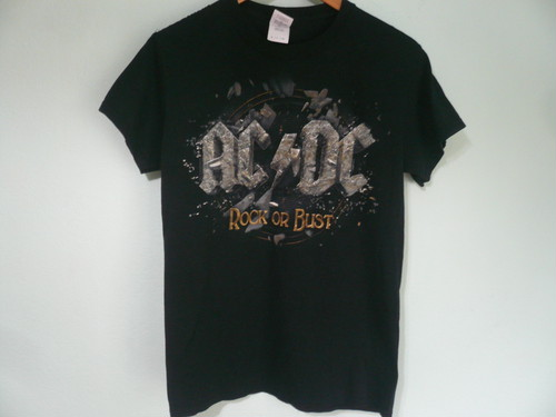 AC/DC Tシャツ / ハードロック ヘヴィーメタル 70s 80s 90s OLD ROCK BAND
