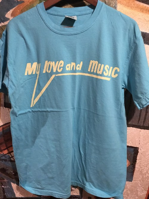 My love and music Tシャツ メンズ
