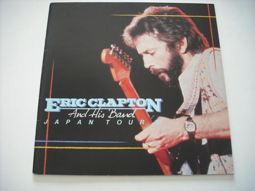 【パンフレット】ERIC CLAPTON / 1981 JAPAN TOUR