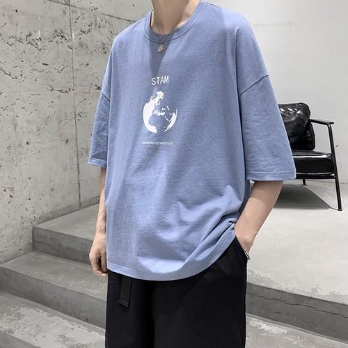 フロントプリントTシャツ BL5790