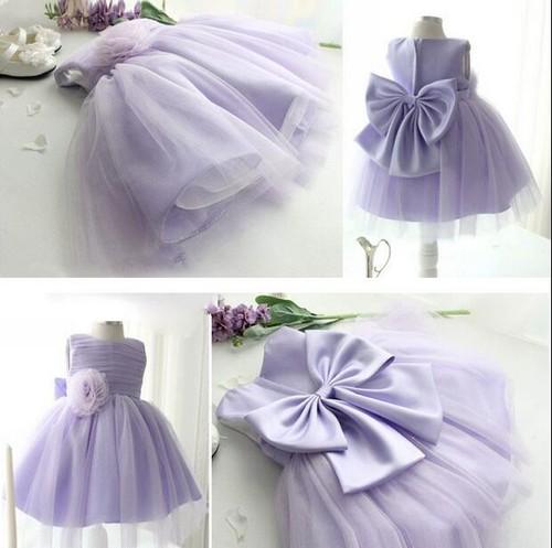 8494子供ドレス キッズドレス ベビードレス チュールドレス ジュニア 女の子ドレス フォーマルドレス  レース 紫 パープル