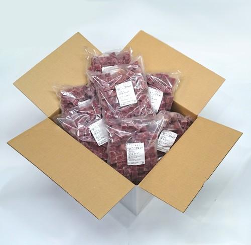 生馬肉パーフェクト -角切り冷凍(5kg)