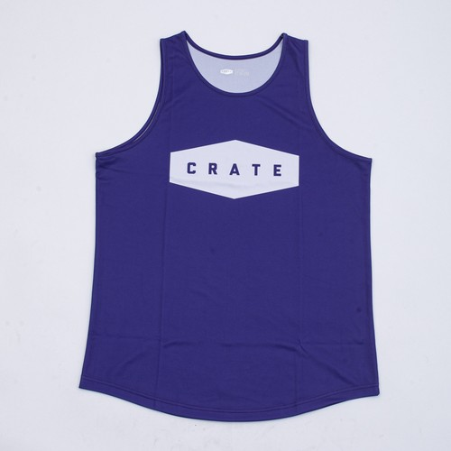 CRATE LOGO Mesh Tanktop PURPLE
