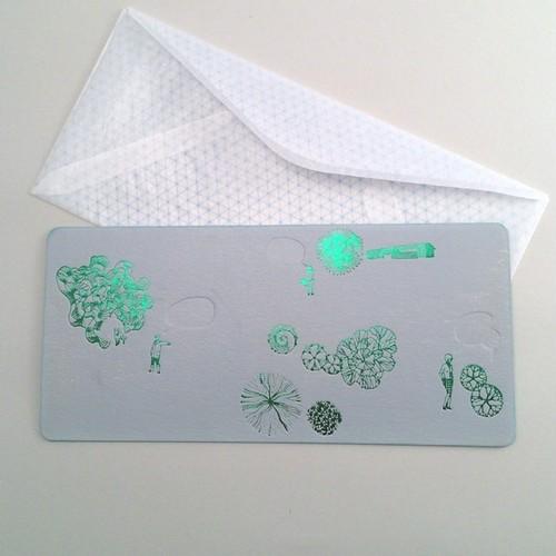 凸版印刷  カード  曖昧な便り -13:00