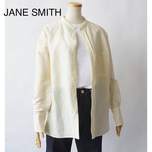 JANE SMITH/ジェーンスミス・Banded Collor Shirts