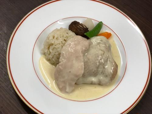 甲州地鶏のクリーム煮