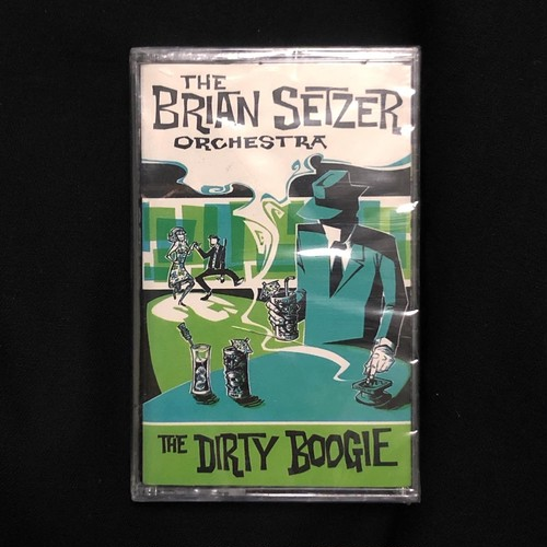 The Brian Setzer Orchestra / The Dirty Boogie(Canada)[中古Cassette]