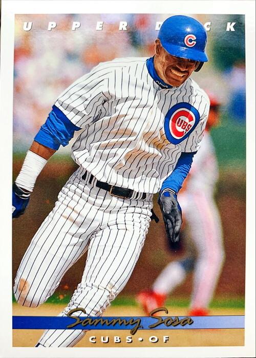 MLBカード 93UPPERDECK Sammy Sosa #127 CUBS