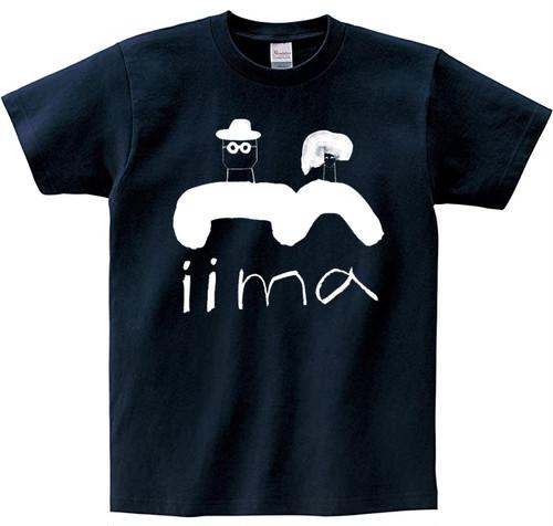 「iimaなTシャツ」ネイビー
