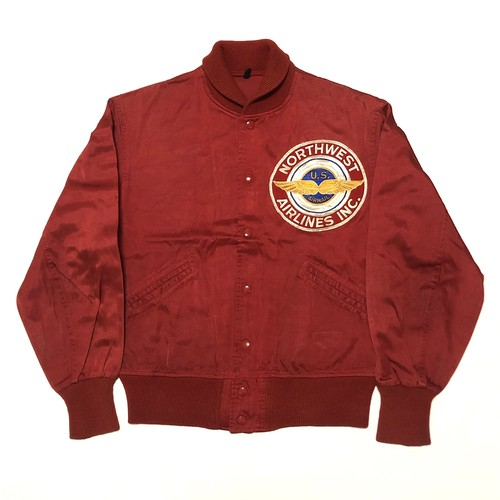 40's NORTHWEST AIRLINES INC. Showlcoler Jacket