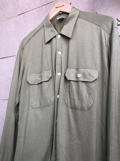 Old German military L/S shirts