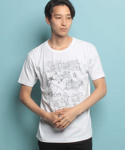 #443 Tシャツ LIFE ON