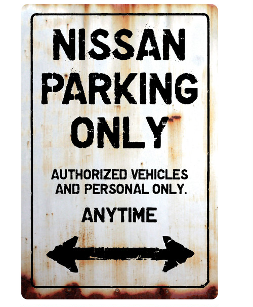 NISSAN Parking Onlyサインボード