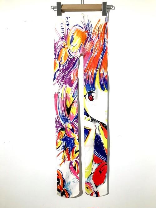 ワンピースとタイツ セーラー少女タイツ/レギンス