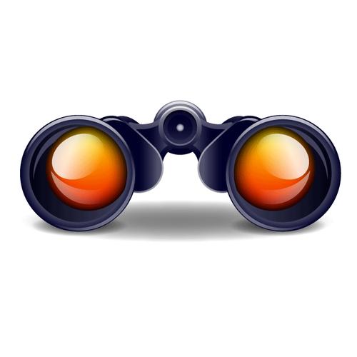 双眼鏡 アイコン イラスト
