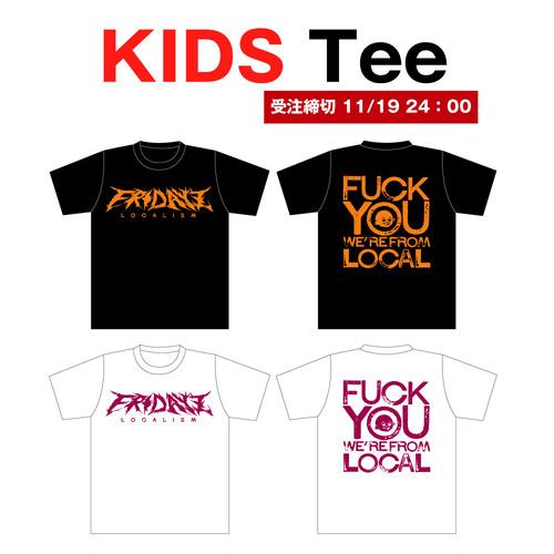 """【受注製作11/10-11/19(日)24:00】""""FRIDAYZ""""KIDS Tee"""