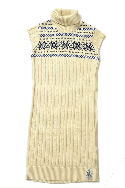 POLO JEANS CO. sizeM long knit onepiece