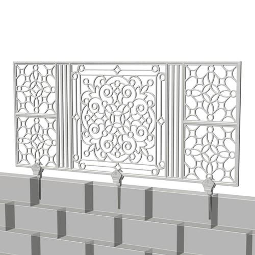 フェンス type1 White