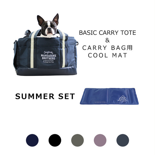 【SUMMER SET】BASIC CARRY TOTE BAG&COOL MAT  MANDARINE BROTHERS(マンダリンブラザーズ)