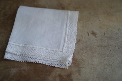 [vintage] handkerchief(C)