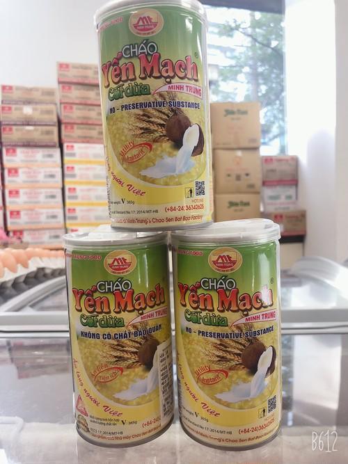 Cháo Yên Mạch Cốt Dừa - Instant Oats Coconut Porridge (365g)