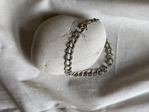 〈vintage silver925〉double ring bracelet