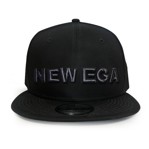 NEW EGA CAP 黒 限定100個