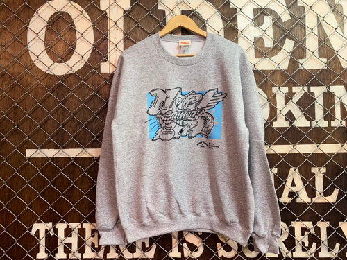 """""""OLDENTIMES""""×""""BOIL"""" 1ST COLLABORATE SWEAT CREW NECK"""