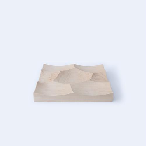 木製テーブルトレー -Storm Tray S(ハードメープル)