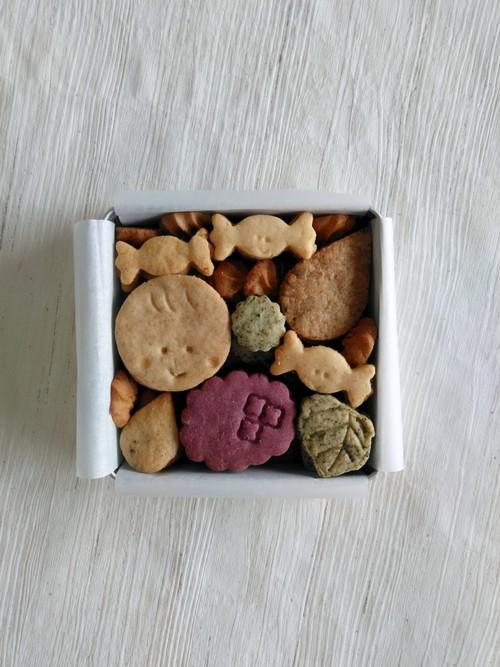 かりぽり雨あめ缶(卵、乳製品、白砂糖不使用マクロビクッキー)