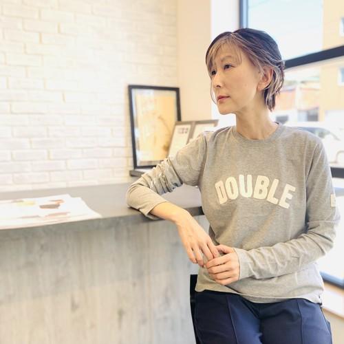DOUBLE STANDARD CLOTHING (ダブルスタンダードクロージング ) サガラ刺繍ロングTシャツ 0208170213