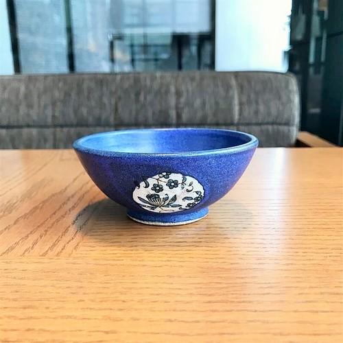 田中アルバ 13-15 飯碗 コバルトブルー(小)