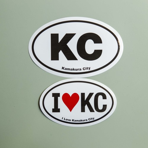 KC sticker 2枚組