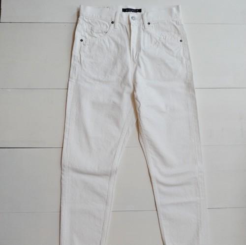 high waist white denim |mizuiro ind