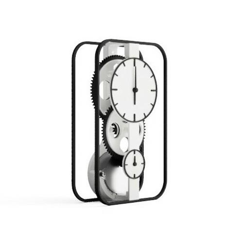 3Dプリント電気時計(完成品)