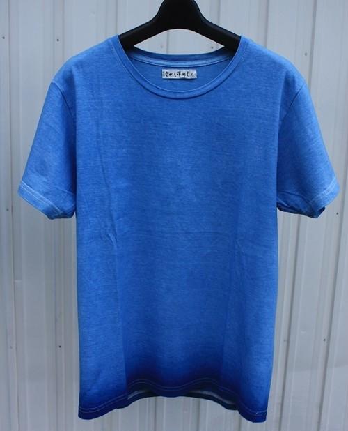 あまべ藍 半袖Tシャツ Lサイズ