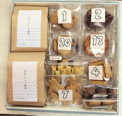 水出し珈琲2つ+クッキーセットL