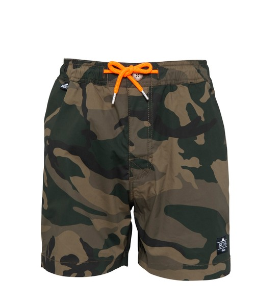 SUNS CAMO STRETCH SWIM SHORTS[RSW021]