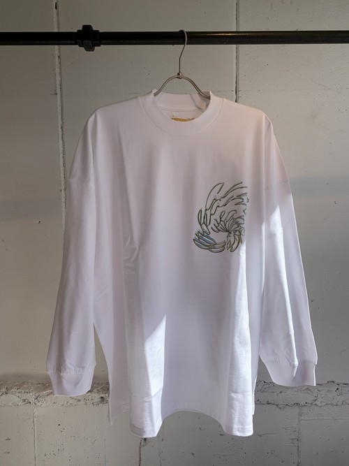 PONTI DREAM WEAPON LONG TEE (WHITE)