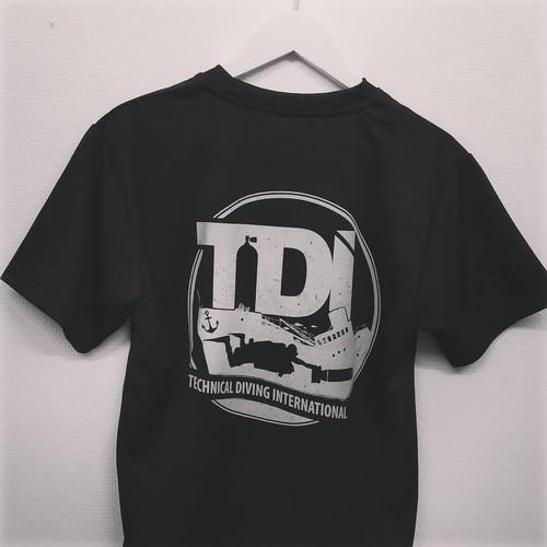 TDI  WRECK Tシャツ ドライメッシュ (日本オリジナル)