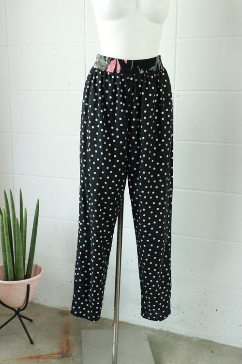 polka dot easy pants